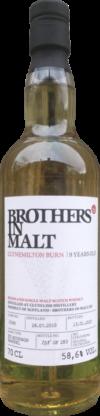 Produktbild Brothers in Malt Clynemilton Burn 9 Jahre