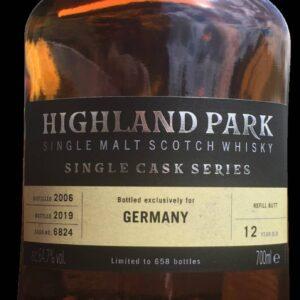Highland Park 12 Single Cask