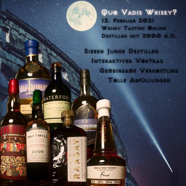 Quo Vadis Whisky? Whisky-Tasting